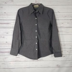 Eddie Bauer Wrinkle Resistant Button Up Shirt XS